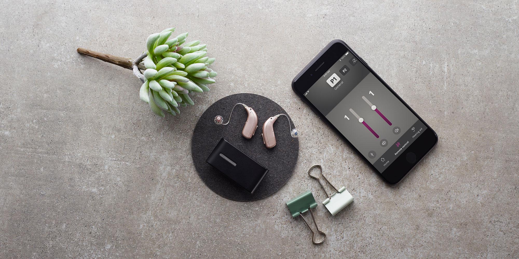 Hörgeräte mit Smartphone verbinden