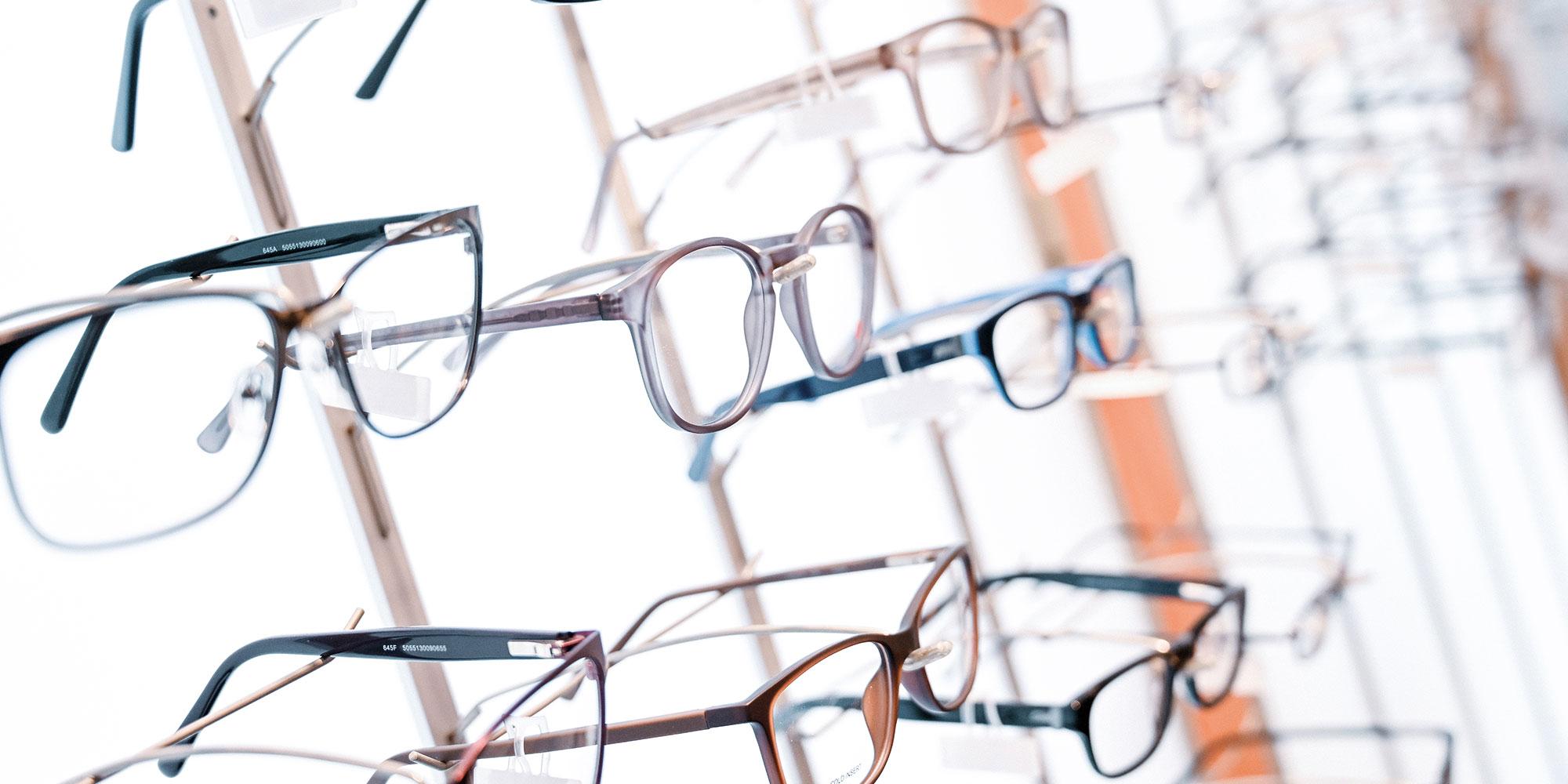 Brillenauswahl