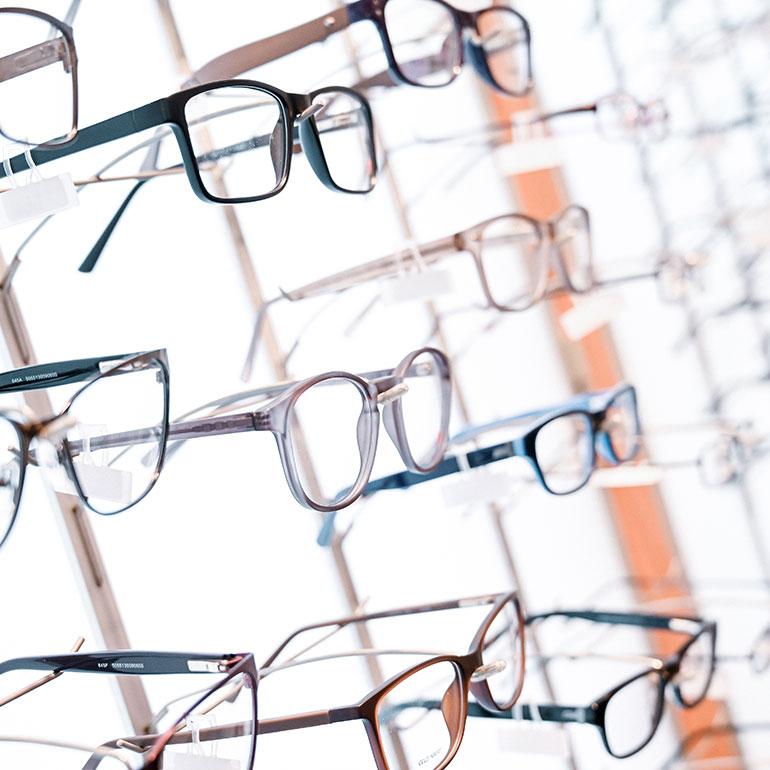 Impression Brillenauswahl