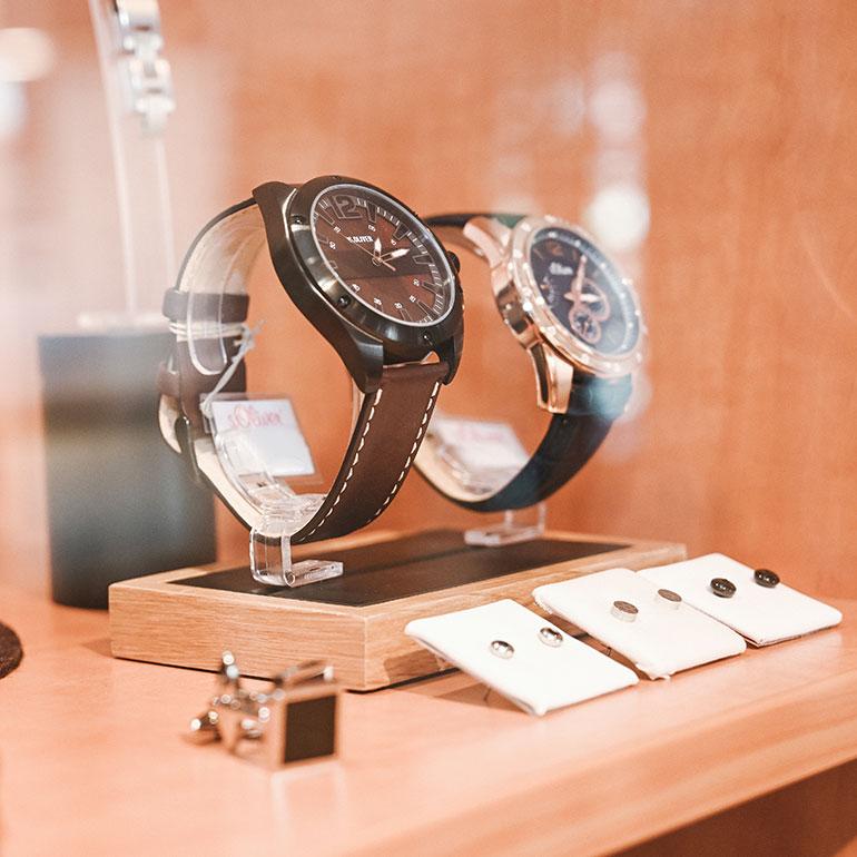 Impression Uhren Schaufenster