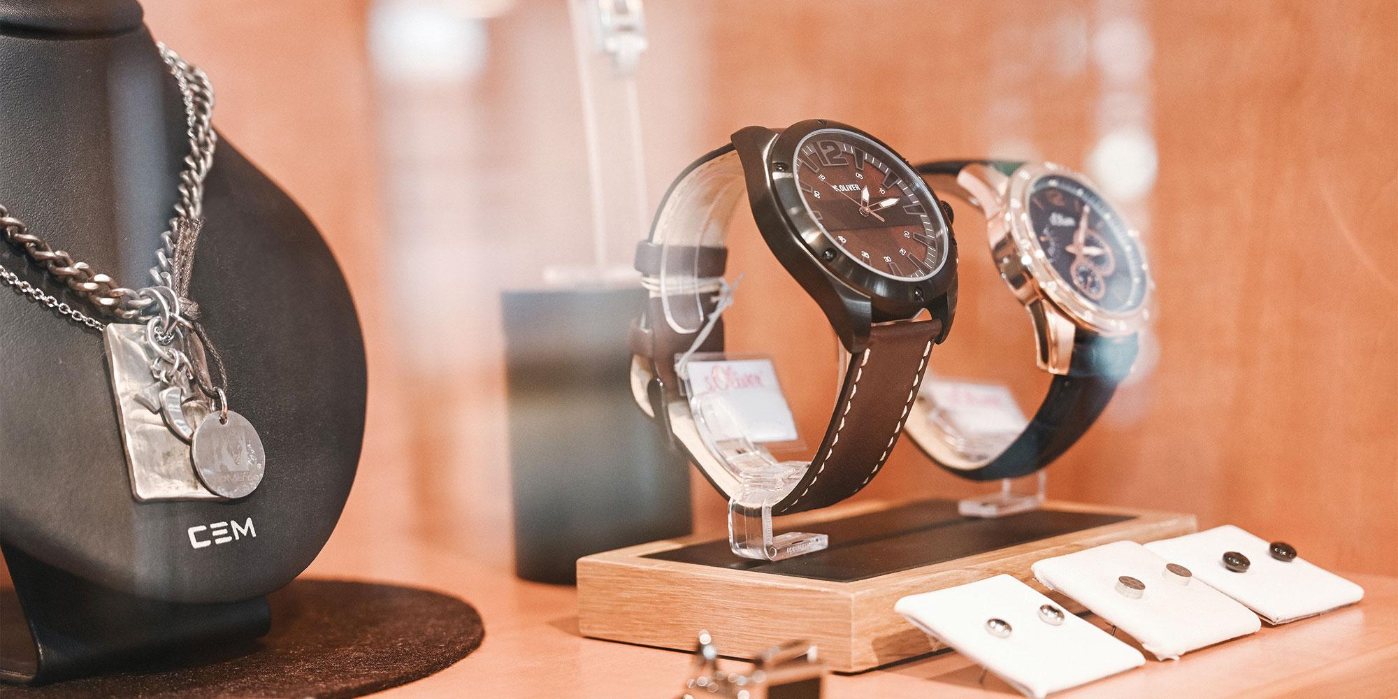 Schaufenster Uhren