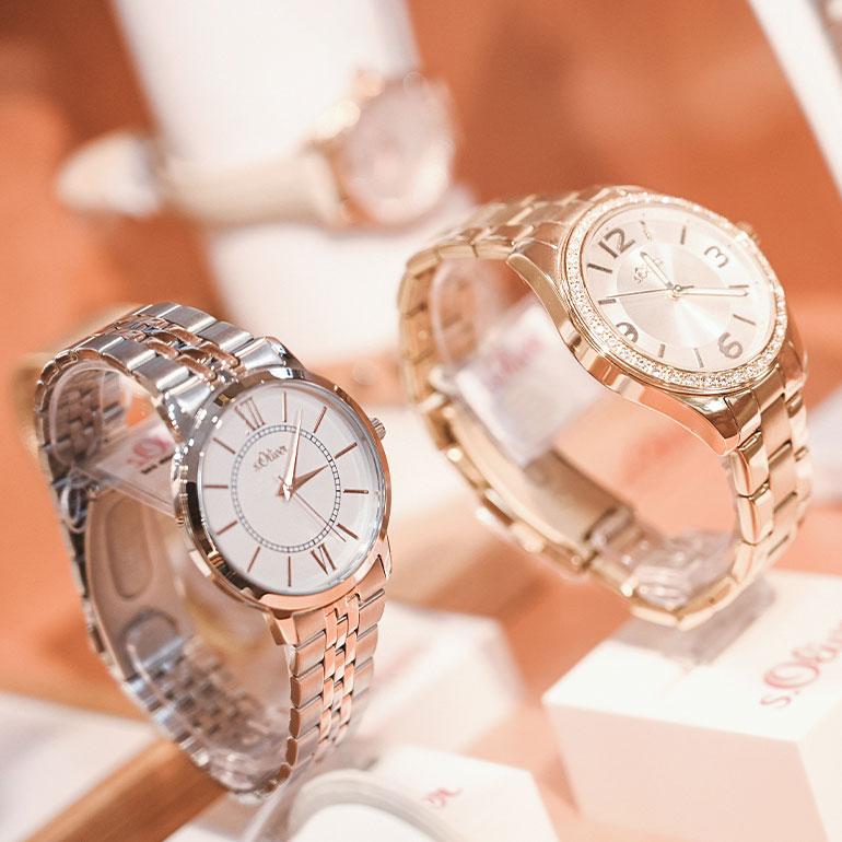 Impression Geschäft Uhren