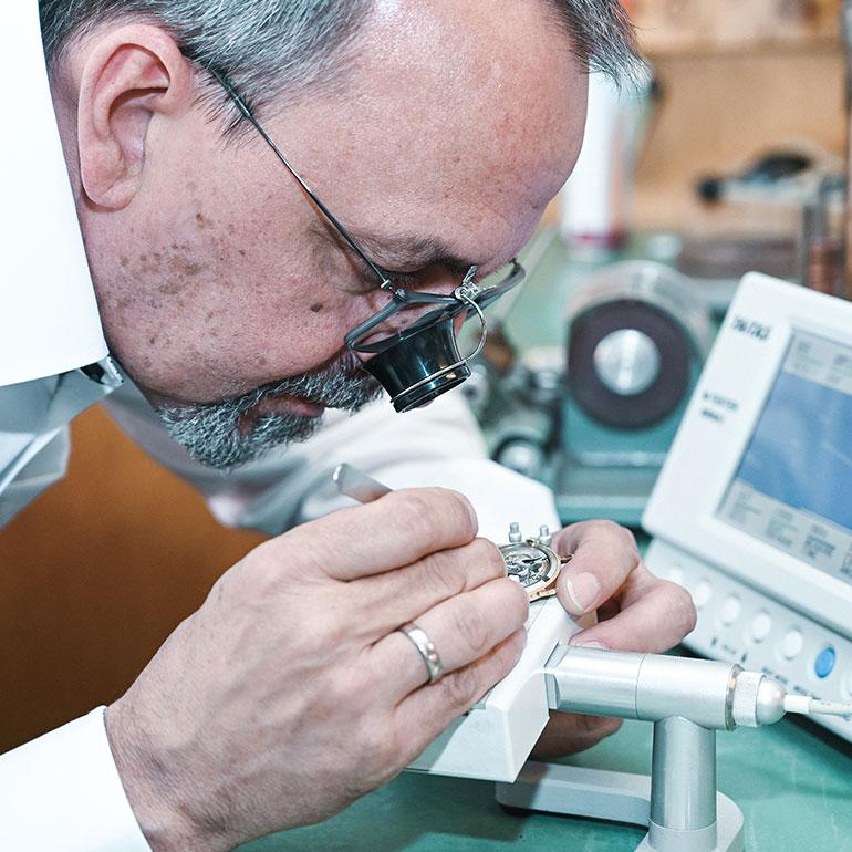 Impression Geschäft Uhrenreparatur